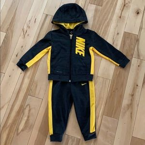 Nike Dri Fit Toddler Jacket and Pant Set